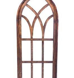 """Genoa Wood Window  60""""H x 25""""L x 1.5""""W"""