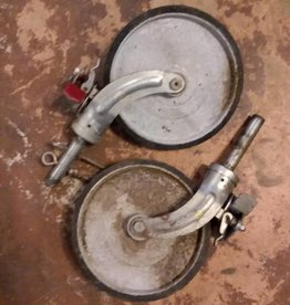 Large Caster Wheel Industrial Set