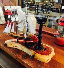 Sailboat Ship Lamp