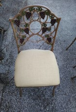 Cast Aluminum Grape Chair