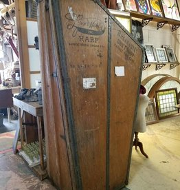 Vintage Lyon & Healy Harp Shipping Crate
