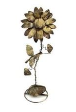 Humming Bird Flower Stake