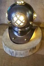 Divers Helmet Desk Lamp