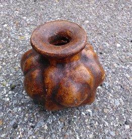 Md Terracotta Squash Vase