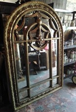 Gold Dome Top Mirror