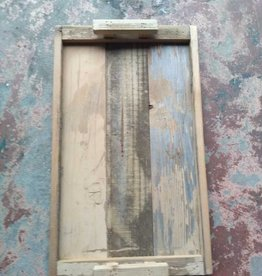 Reclaimed Wood Tray W/ Wood Handles