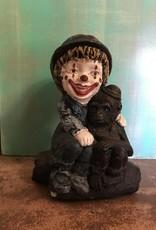 Clown Boy Statue