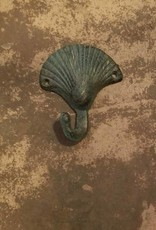 Antique Bronze Shell Single Hook