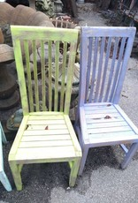Colored Teak Chair