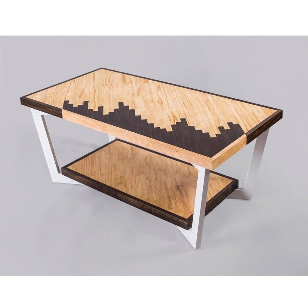 Rustic modern coffee table style 3