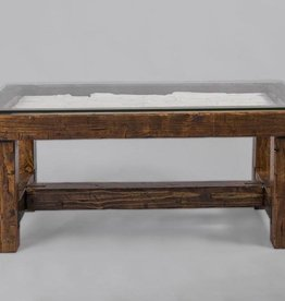 Rustic Modern Coffee Table Style 4