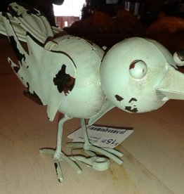 Sm Metal Bird (Green)