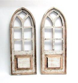 Trani Wood Window