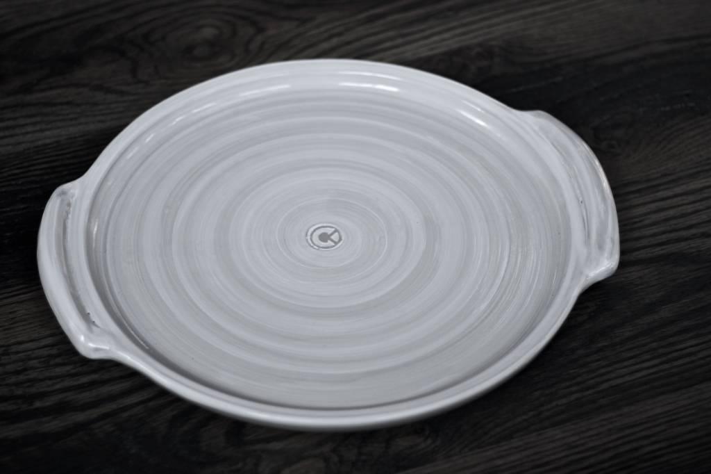 """Louisville Stoneware Louisville Stoneware 14"""" Handled Tray"""