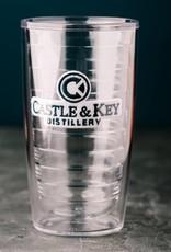 Tervis 16 oz. Castle & Key Logo Tervis Tumbler & lid