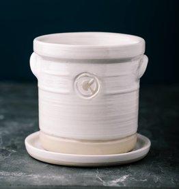 "Louisville Stoneware Louisville Stoneware 4"" Planter"