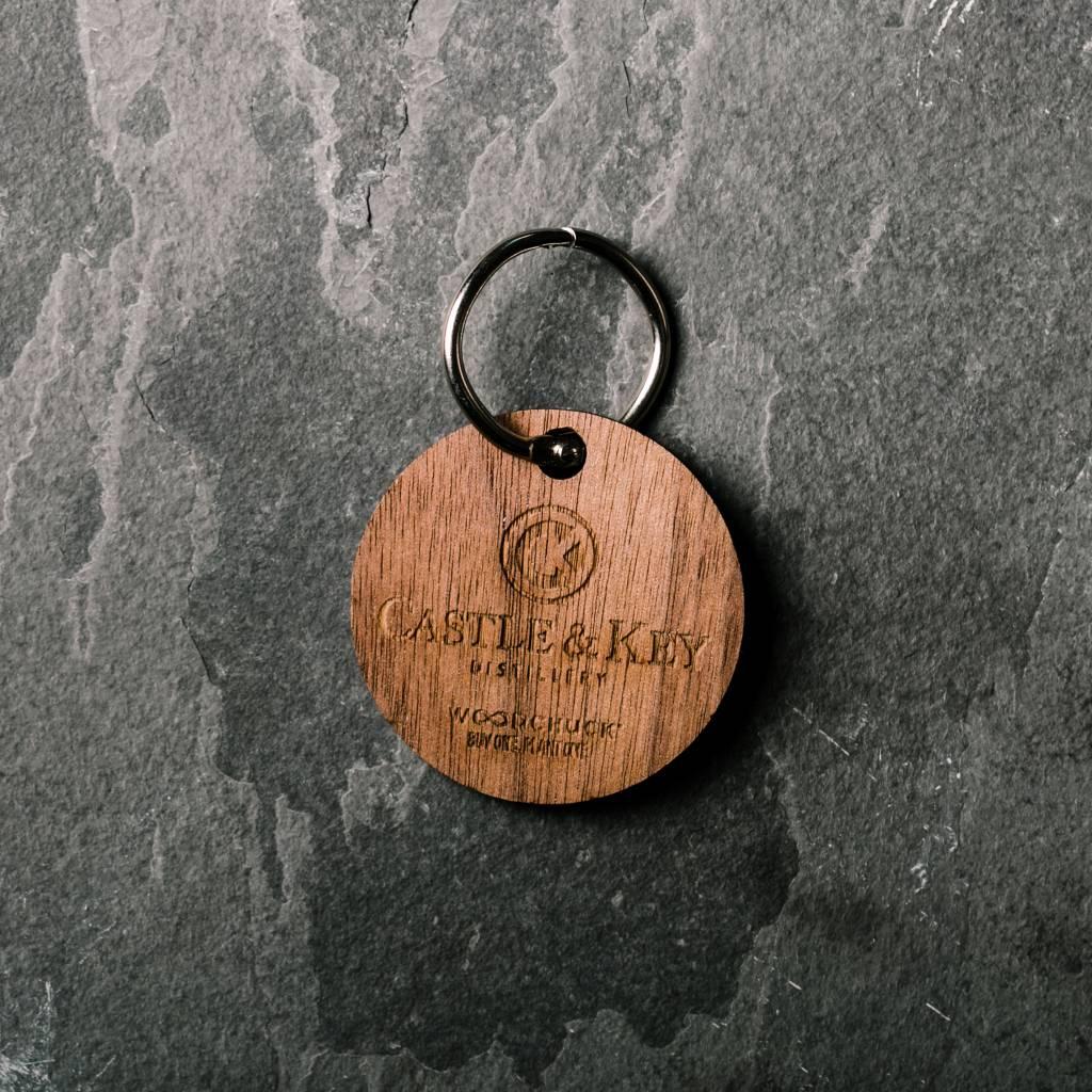 Woodchuck Woodchuck Logo Keychain