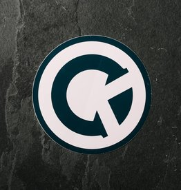 """4"""" Vinyl Logo Sticker"""