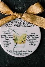 Dishique Ornament - Gin Old Fashioned