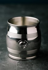 "ASA Lexington Silver 3"" Original Pewter Barrel Beaker"