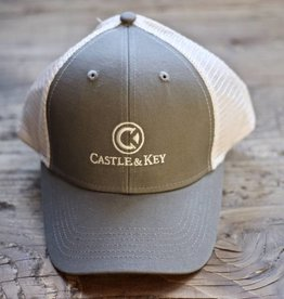 Castle & Key Mesh Back Logo Hat