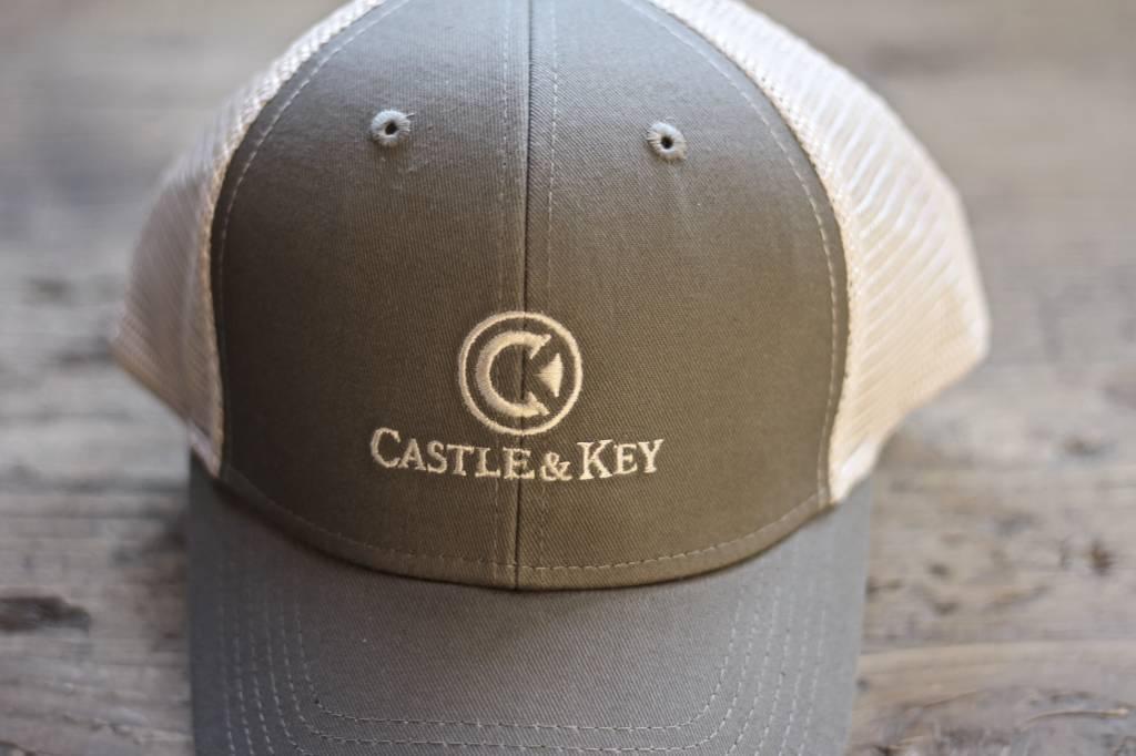 Castle & Key Mesh Back Logo Hat