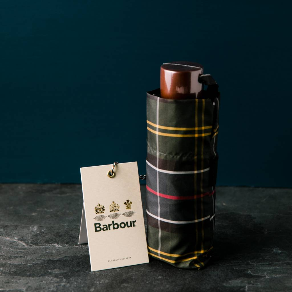 Barbour Barbour Handbag Umbrella- Classic Tartan