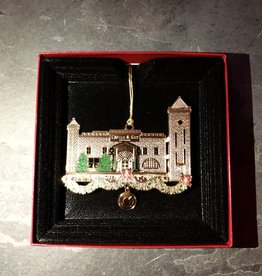 Beacon Design Gold Castle Ornament