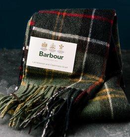 Barbour Barbour Merino Cashmere Scarf Classic Tartan-green