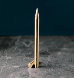 Castle & Key Brass Pen