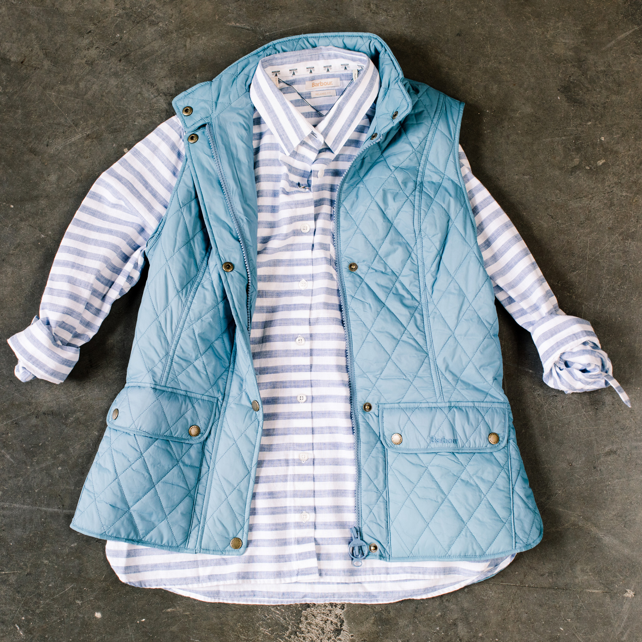 Barbour Barbour Otterburn Gilet Blue Heaven