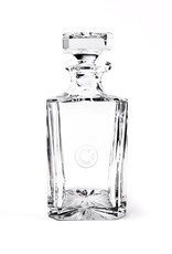 Castle & Key Crystal Decanter
