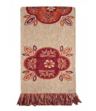 Huitru Table Runner Emilia Ricotta 63""