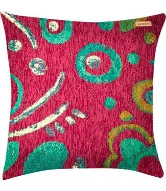 Huitru Cushion Case Painting Oleo Natural Plum