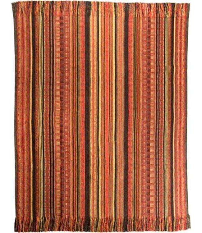 Huitru Throw Blanket Quechuquina Earthy