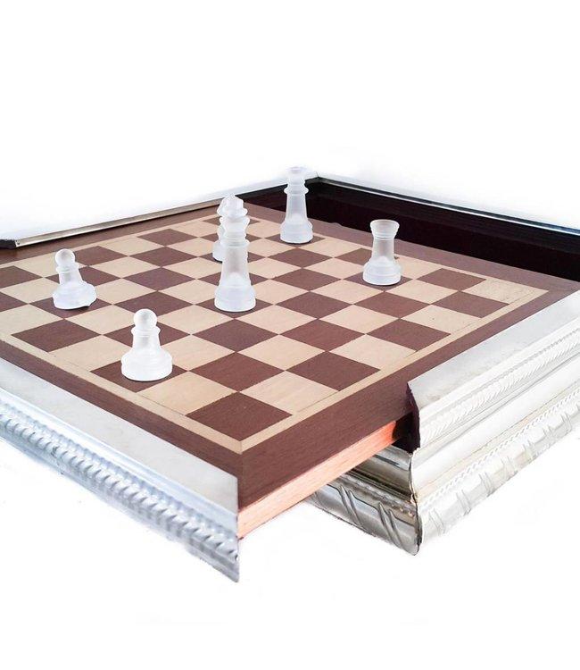 Los Robles Polo Time Alpaca Chess Game - Cristal Pieces