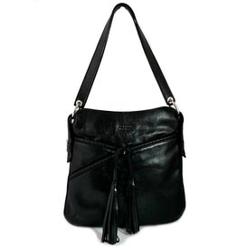 Los Robles Polo Time Cow Leather Adjustable Shoulder Strap Handbag