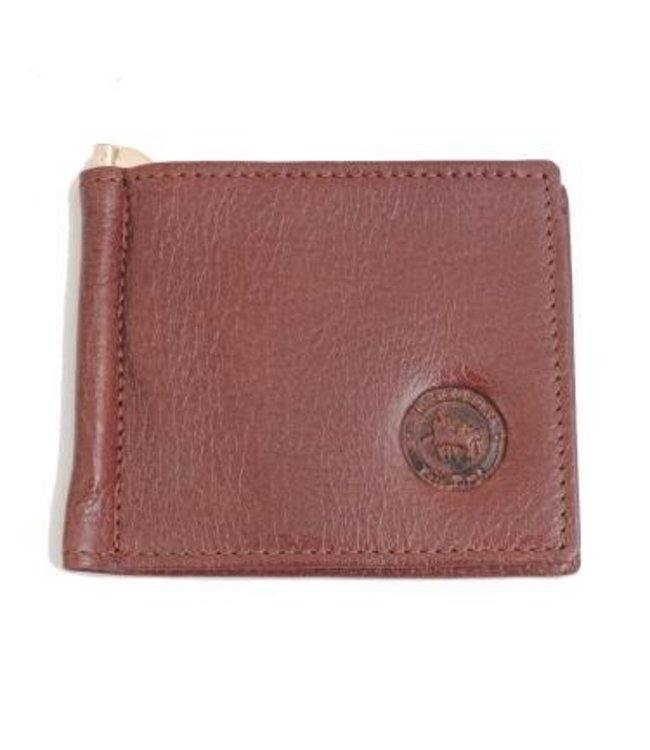 Los Robles Polo Time Cow Leather Money Clip for Men