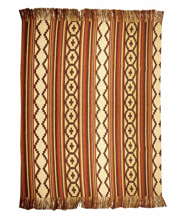 Huitru Throw Blanket Mexico
