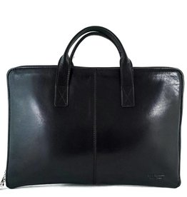 Los Robles Polo Time Document Leather Briefcase with Two Compartments