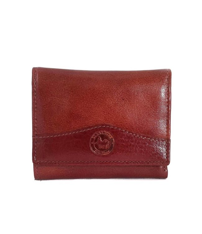 Los Robles Polo Time Small Cow Leather Flap Wallet