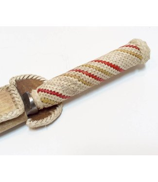 """Rawhide Leather Braided Gaucho Knife 5 1/2"""" - Select Design"""