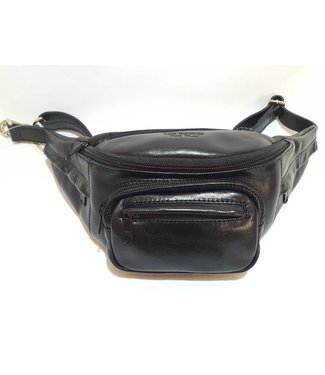 Los Robles Polo Time Premium Fanny Pack 100% Cow Leather