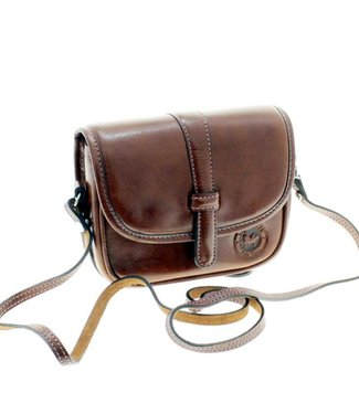 Los Robles Polo Time Cow Leather Cross-body Purse