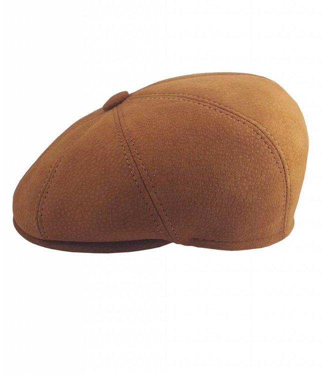 Capybara Leather Cap