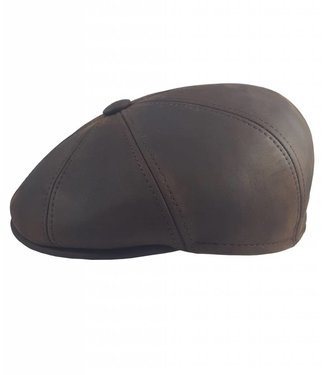 Oiled Leather Cap