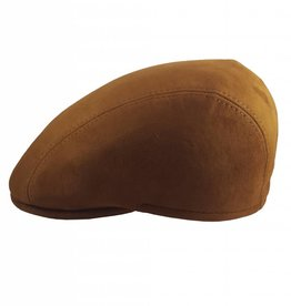 Suede Leather Cap