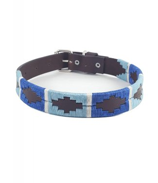 """Elsa"" Polo Leather Dog Collar - Width 1''"