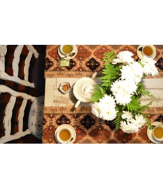 Huitru Table Runner Marroqui­ Caramel