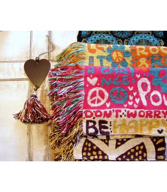 Huitru Throw Blanket Hippie Spring